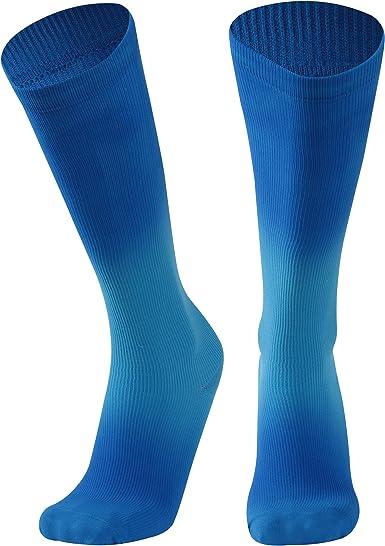 SuMade Athletic Compression Socks Womens Mens Graduated 20-30mmHg Medical Nursing Running Cycling Recovery Socks 1 Pair