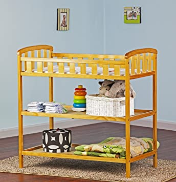 Amazon.com : Nene\'s Cribs Changing Table (Natural) : Baby