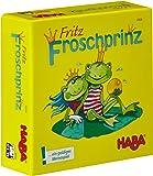 Haba 4906 Fritz Froschprinz - Juego de memoria (en alemán)