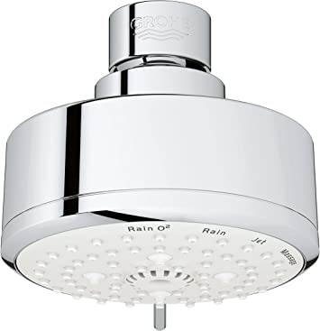 Grohe 26043001 Tempesta Cosmopolitan 100 4 Spray Functions Shower Head Starlight Chrome Amazon Com