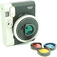 CAIUL Compatible Mini 90 Color Filters Set for Fujifilm Instax Mini 90 Camera (4 Colors)