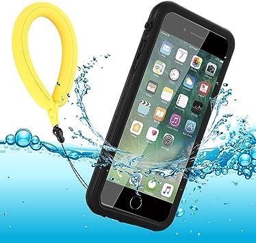Funda Impermeable iPhone 8 Plus/iPhone 7 Plus, IP68 Waterproof ...