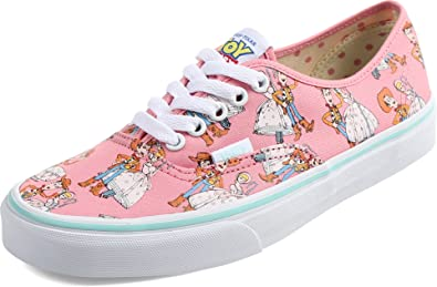 484883645aa2 Image Unavailable. Image not available for. Color  Vans Shoes Authentic  Sheiff Woody Little Bo Peep Pink Disney Pixar Toy Story ...