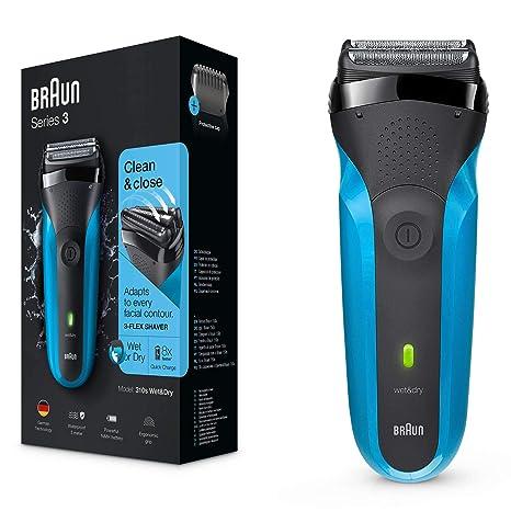 afeitadora electrica en bolso de mano