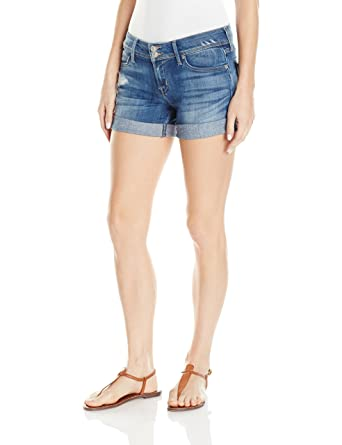 de3fc7ee7b8 Hudson Jeans Women's Croxley Mid Thigh Jean Short at Amazon Women's  Clothing store:
