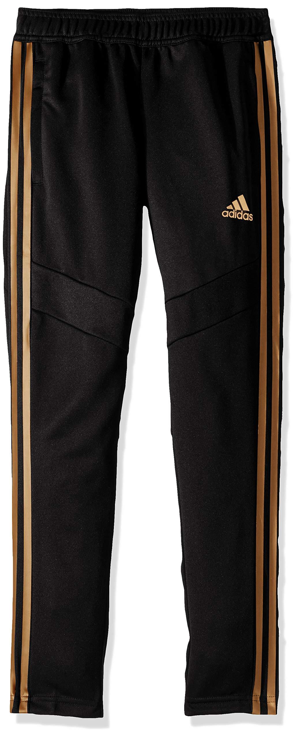 adidas Originals Boys' Big Tiro 19 Pant, Black/Nude Pearl Essence, Medium