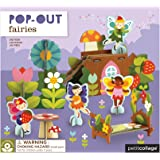 Petit Collage  Pop-Out and Build Playset, Fairies
