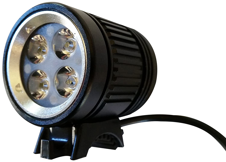 Ryder USB Rechargeable Scorpios 1600-Lumen Bicycle Bike Light