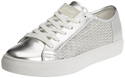 COOLWAY Nancy, Zapatillas para Mujer, Plateado (Silver/Plata), 41 EU: Amazon.es: Zapatos y complementos