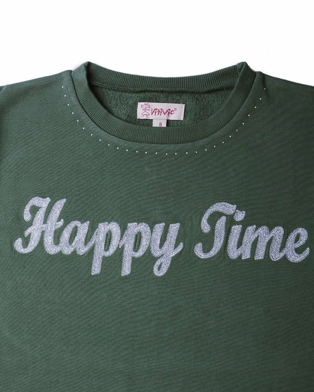 Camiseta para Beb/és VITIVIC Time Verde