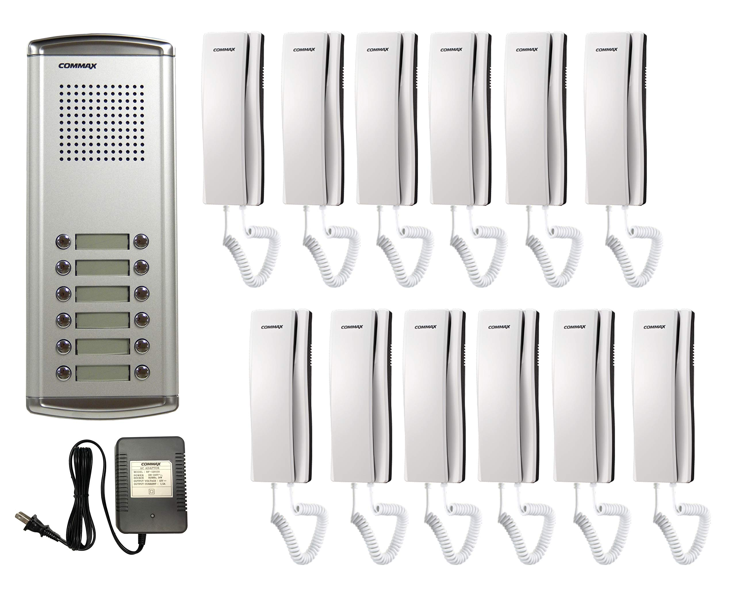 COMMAX 1 to 2 Audio Intercom with Vandal-proof Doorbell DP-LA01//DR-2GN