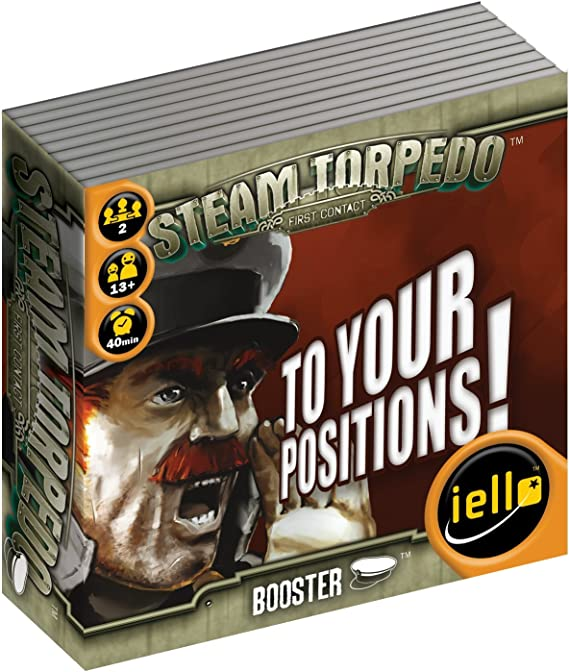 Steam Torpedo: to Your Positions! Booster Pack