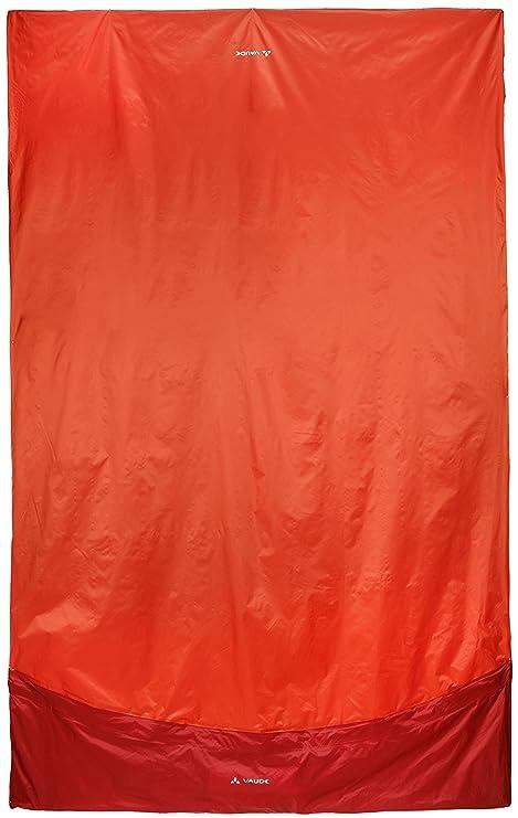 VAUDE Biwak II – Saco de dormir móvil, naranja, 140 x 220 cm