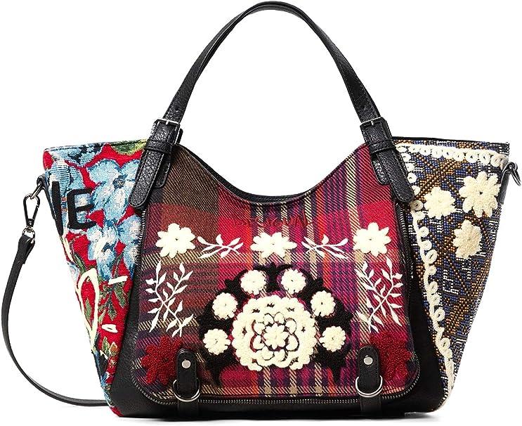 Borse e borsette da donna rossi Desigual con tasche esterne