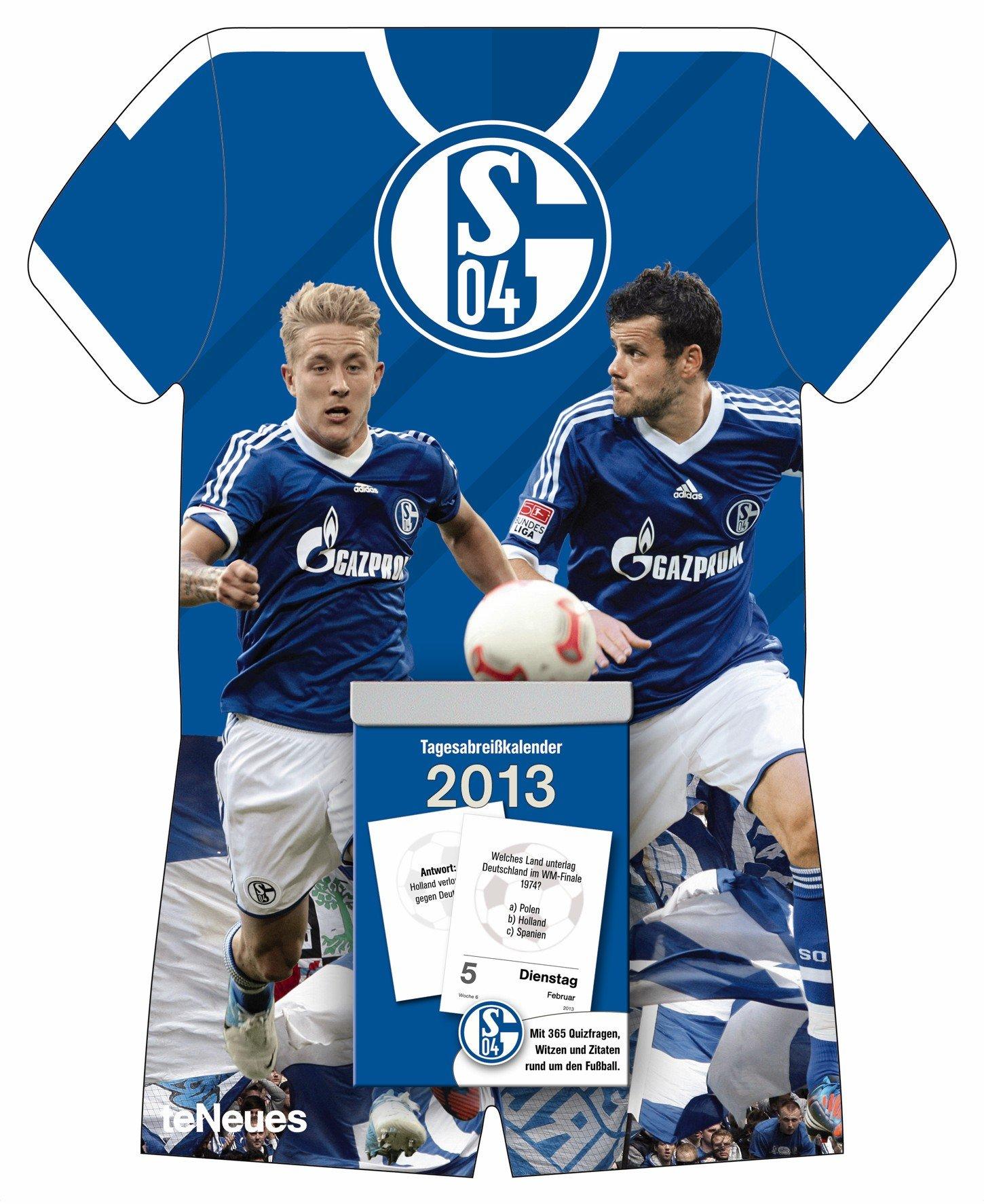 Schalke 04 2013 Tagesabreißkalender