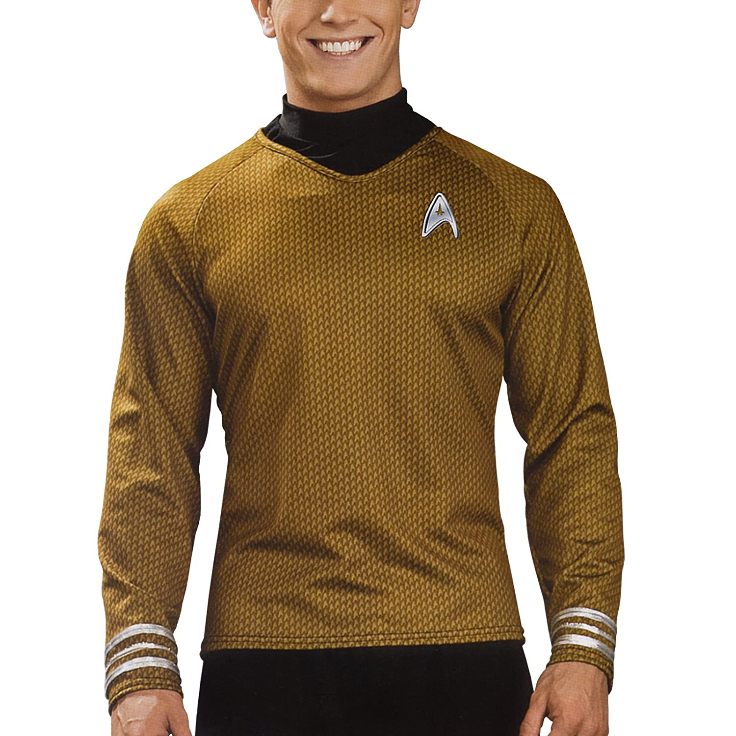 Star Trek - Camiseta James T.Kirk Deluxe - XL: Amazon.es: Juguetes ...