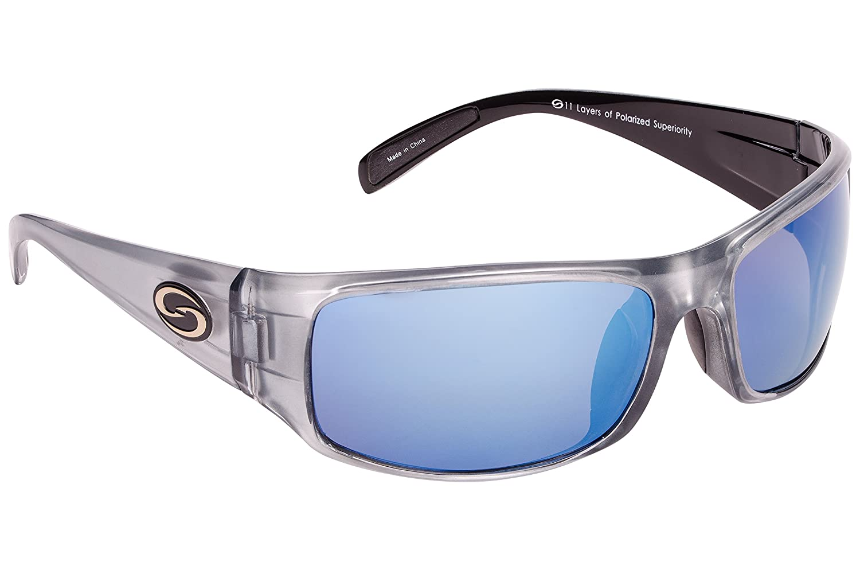 f4d78adcc42 Strike King S11 Optics Full Frame Polarized Sunglasses (Clear Gold Metallic-Black  Two Tone Amber)  Amazon.ca  Sports   Outdoors