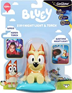 Homewares 14311 Bluey Bingo Kids Bedside Night Light andTorch