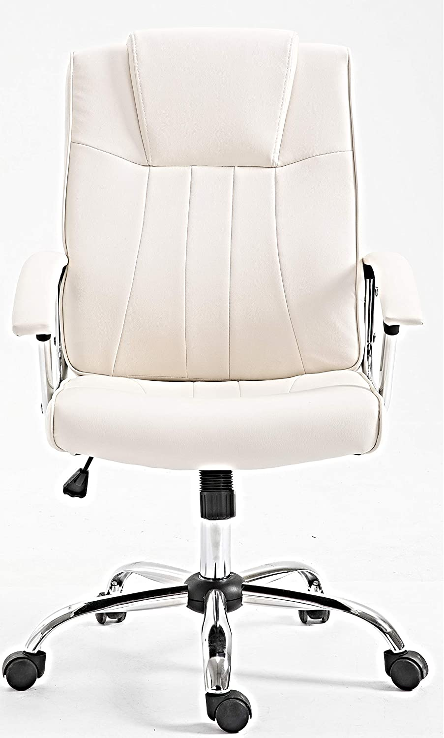 24//7 seatng Stylish Luxury Executive Leather Office Home Study Computer Desk Chair Tilt /& Lock Swivel and Height Adjustment.