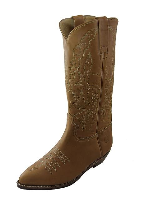 Amazon Maple Vintage Charro 1226 Women it Scarpe Leather El Boots w70YfqqU