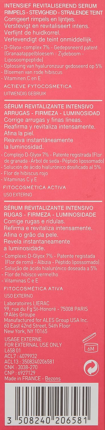 Amazon.com: LIERAC Magnificence Red Serum, 1.1 Oz.: Luxury ...