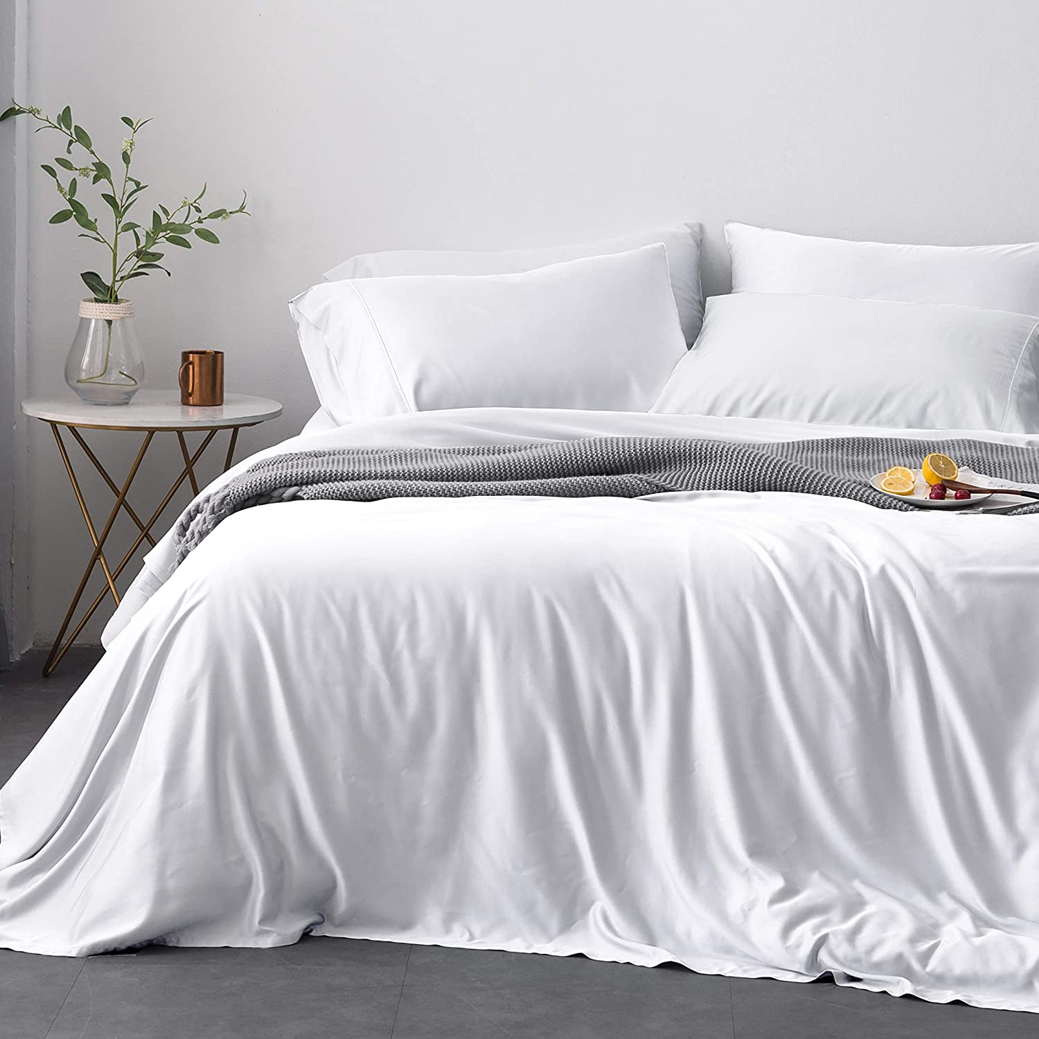 Oasis Fine Linens Island Bamboo Collection Softest Hypoallergenic Sheets