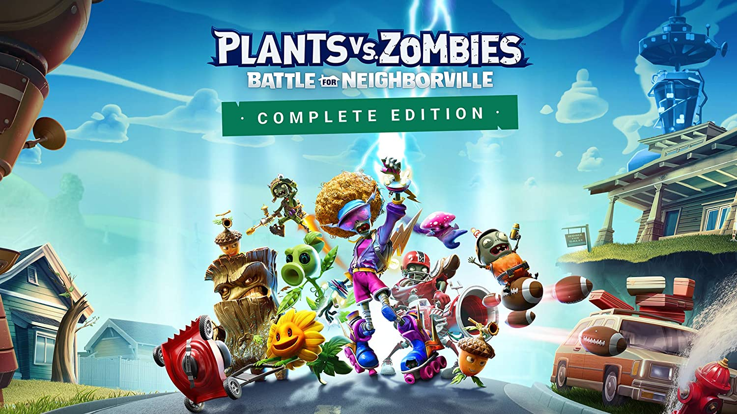 Plants vs. Zombies: Battle for Neighborville Complete Edition - Switch [Digital Code]