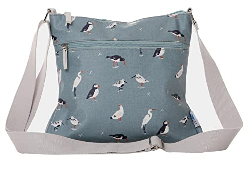1e18bc6b3c4c Blue Bird Shoulder Bag RSPB Birds Crossbody Ladies Puffin Wading Birds  Gulls Across body Cross Body Handbag Puffins  Amazon.co.uk  Shoes   Bags