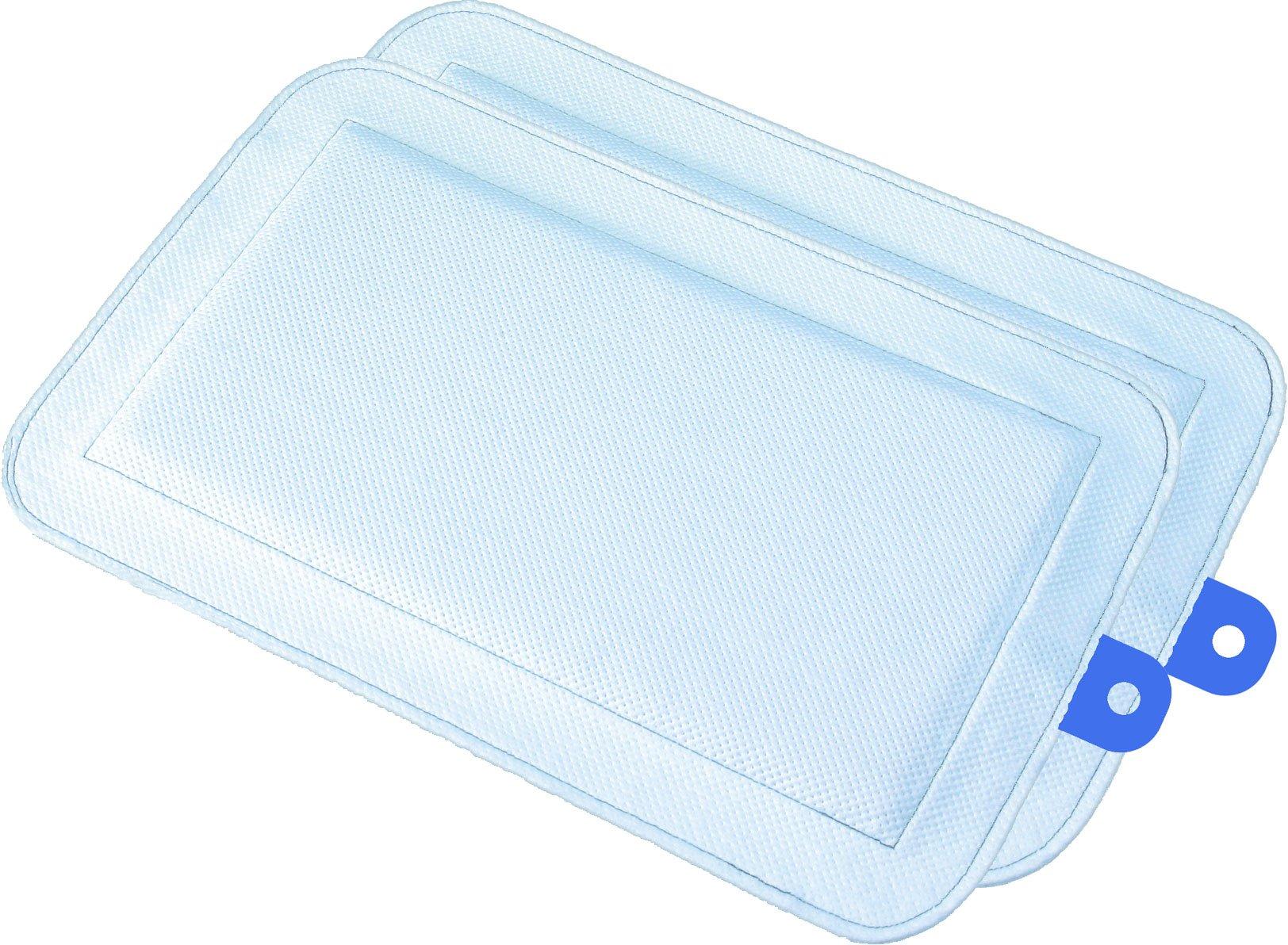 DryFur Pet Carrier Insert Pads size Small 19.5'' x 12.5'' Blue - 2 pack