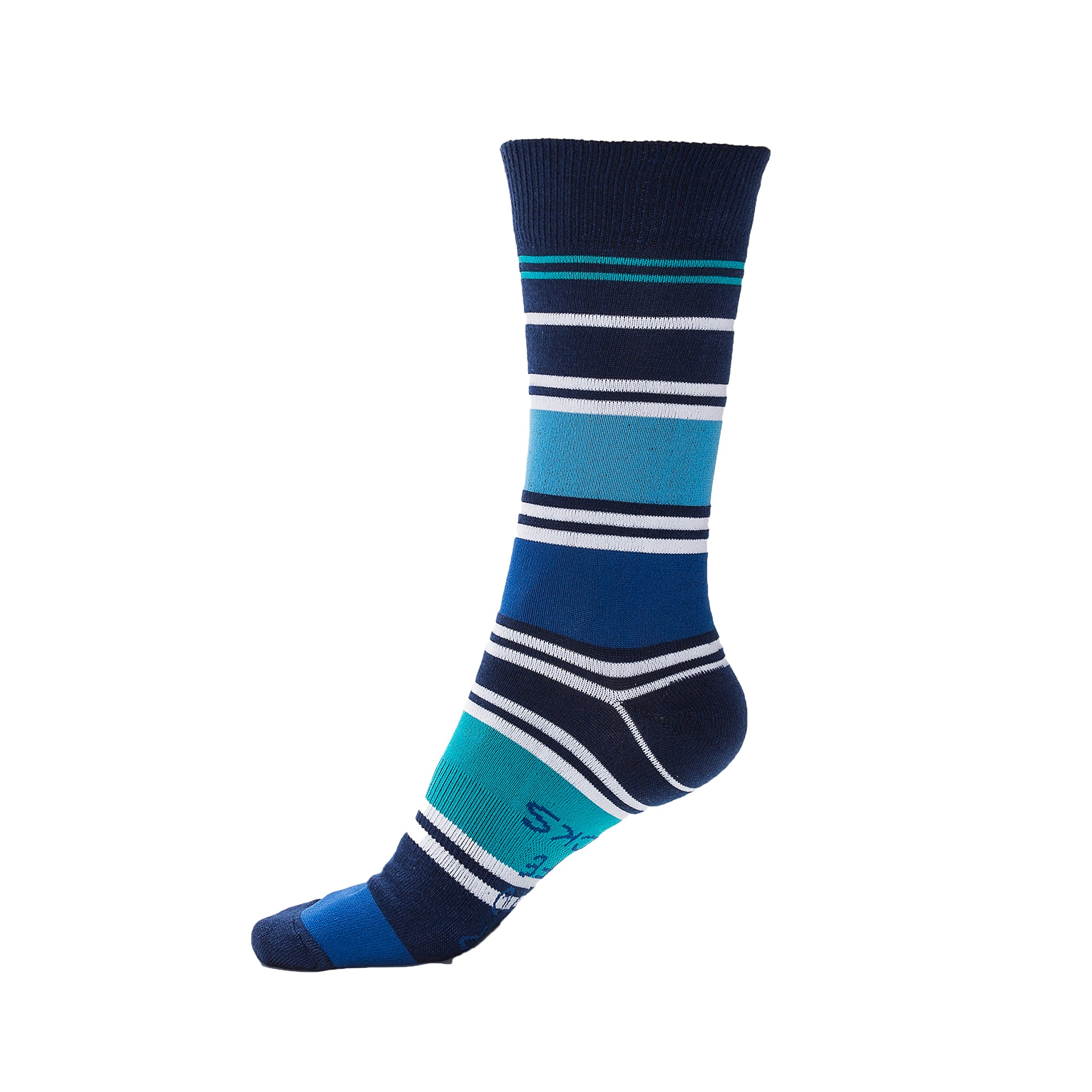 Men's Socks: Honor by Step Into Life Socks Stylish Casual Funky Fun Cotton