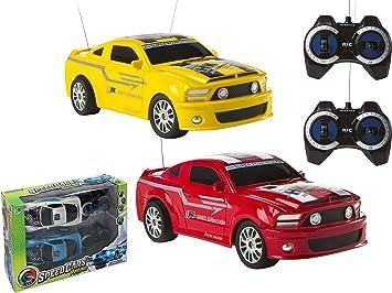 COLORBABY- Set 2 Coches R/C Speedcars. Caja 39X28 Cm, Multicolor (43263) , color/modelo surtido: Amazon.es: Juguetes y juegos