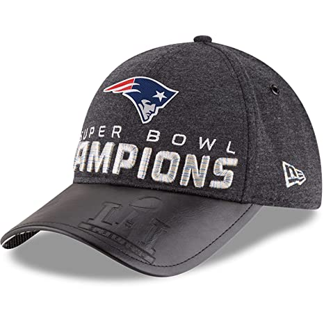 Image Unavailable. Image not available for. Color  New England Patriots New  Era Super Bowl LI Champions Trophy Collection Locker Room 9FORTY Adjustable  Hat 3af494a7b