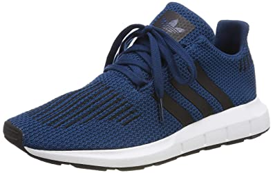 timeless design decec 6cc2b adidas Swift Run J, Chaussures de Gymnastique mixte enfant - Bleu (Legend  Marine