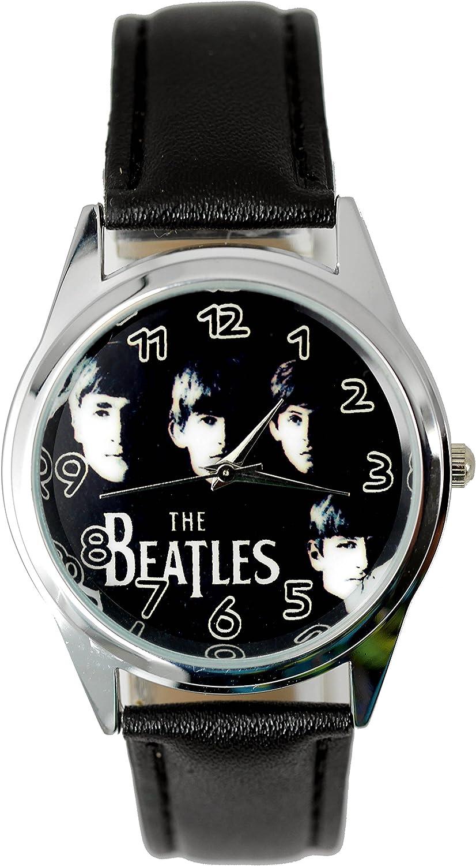 The Beatles Genuine Leather Quartz Wrist Watch