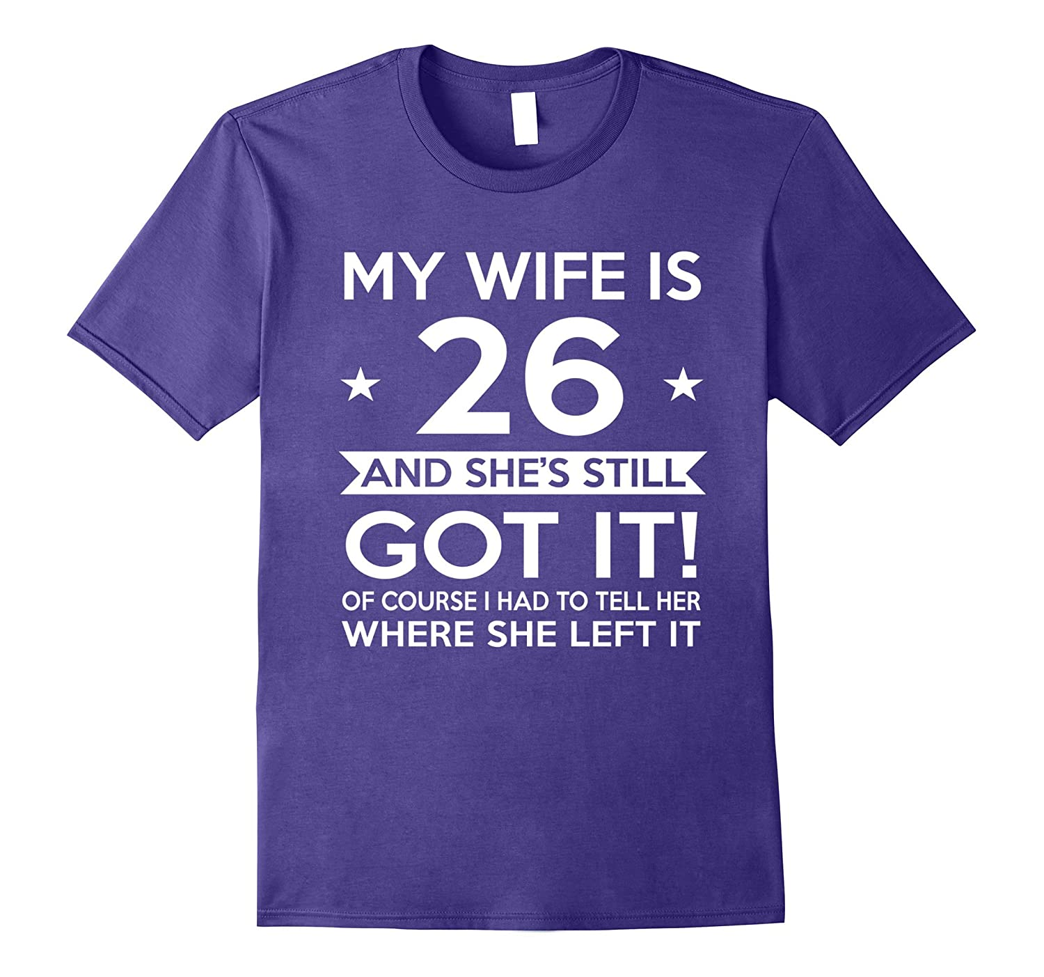My Wife Is 26- 26th Birthday Gift Ideas For Her-CL