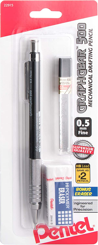 Lapiz automatico Pentel Grafico Gear 500  (0,5mm)