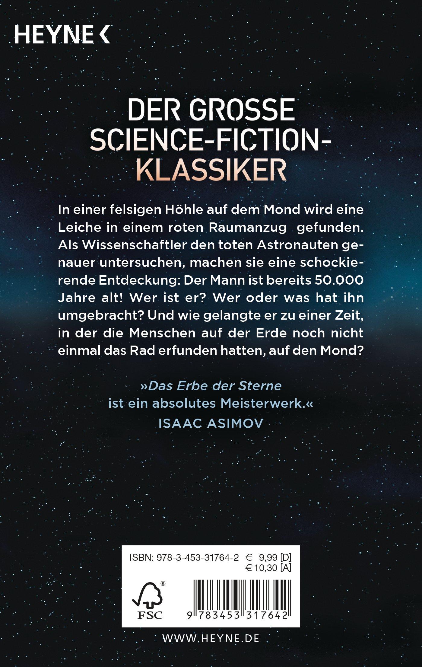 Das Erbe der Sterne: 9783453317642: Amazon.com: Books