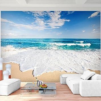Fototapete Meer 352 x 250 cm Vlies Wand Tapete Wohnzimmer ...
