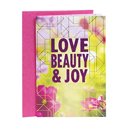Amazon Hallmark Mahogany Birthday Greeting Card For Mother Love Beauty Joy Office Products