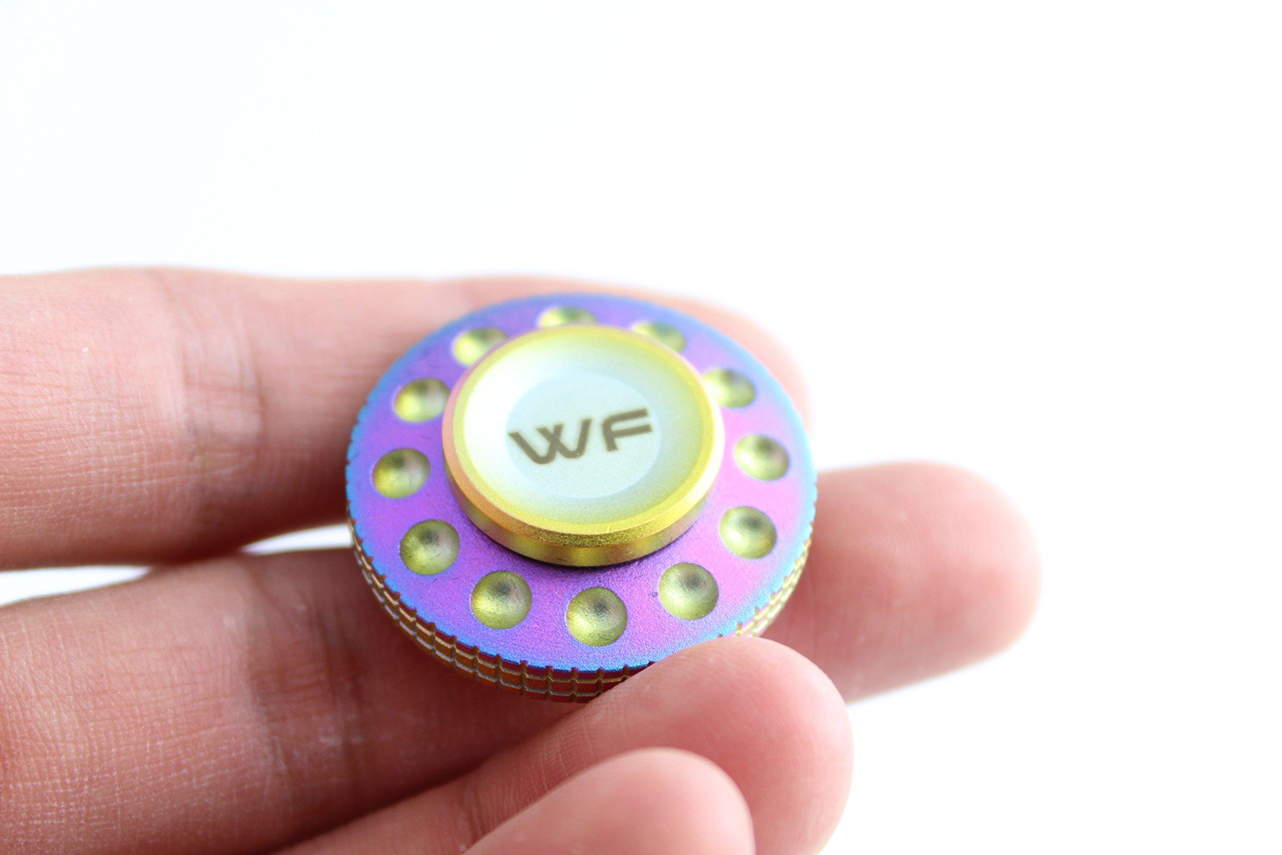 WeFidget Original Mini UFO Fidget Spinner, Super Discrete, Premium Finish, Replaceable Bearings. by WeFidget (Image #4)