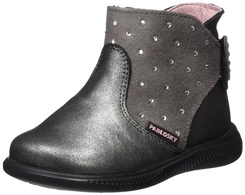 Pablosky 020924, Botines para Niñas, (Gris), 27 EU: Amazon.es: Zapatos y complementos