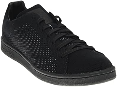 adidas Originals Men\u0027s Stan Smith Primeknit Trainers Core US6 Black