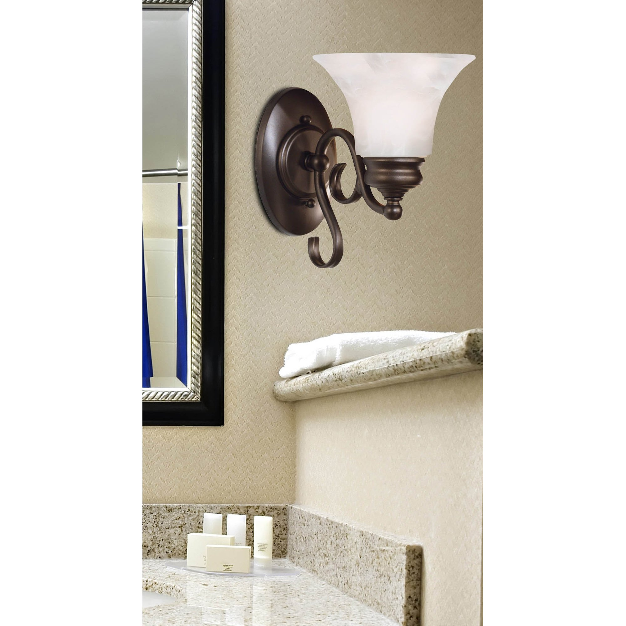 Kenroy Home 91391BBZ Wynwood 1-Light Sconce, Burnished Bronze by Kenroy Home