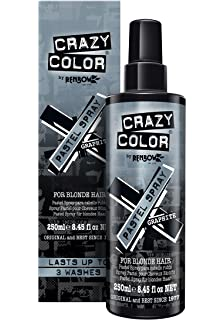 Crazy Color Pastel Hair Spray Marshmallow For Blonde Hair 250ml Last