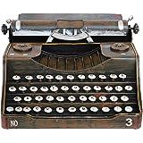 Machine à écrire décoration aucune fonction métal style antique 32cm