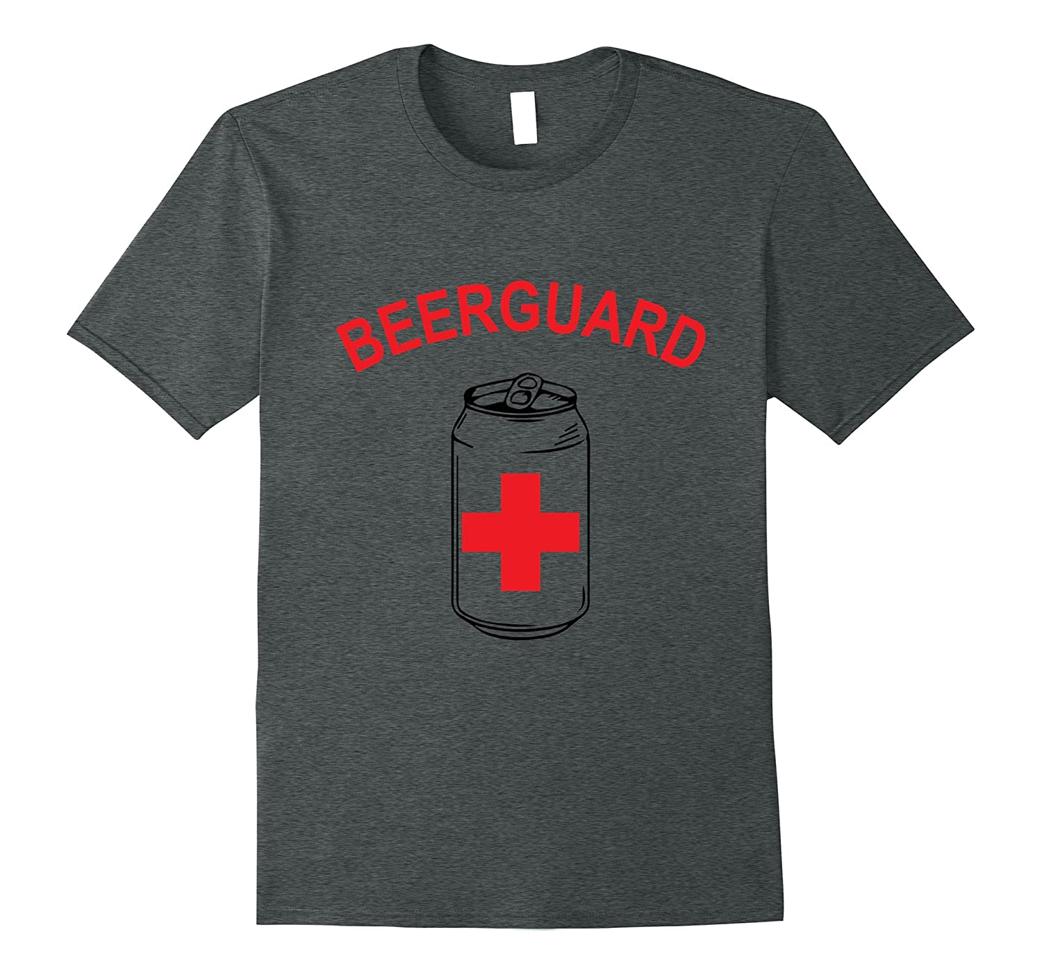 The Funny Pool Lifeguard: Beerguard Lifeguard T-Shirt-FL