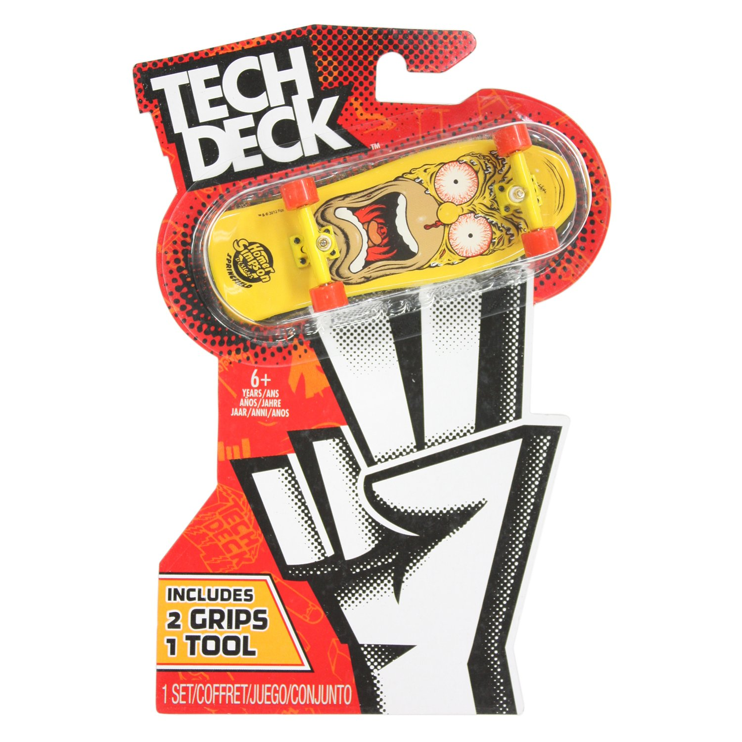 Spin Master TECH Deck (Tech Deck) 96mm / Santa Cruz / Simpsons Homer Face (Japan Import) by Spin Master