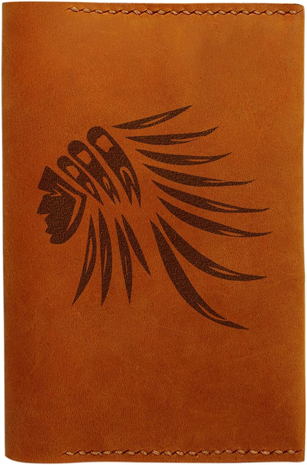 Indian Head Styles Handmade Genuine Leather Passport Holder Case HLT/_01