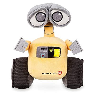 5Star-TD Disney Pixar Wall-E Movie Exclusive 7 Inch Mini Bean Plush Wall-E: Toys & Games