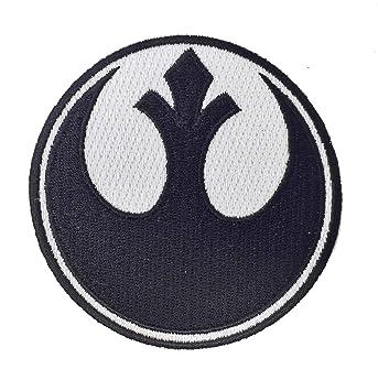 Zum Aufnähen Aufnäher T Film-fanartikel Star Wars Rebel-alliance Logo Pink Bestickt Eisen Filme & Dvds